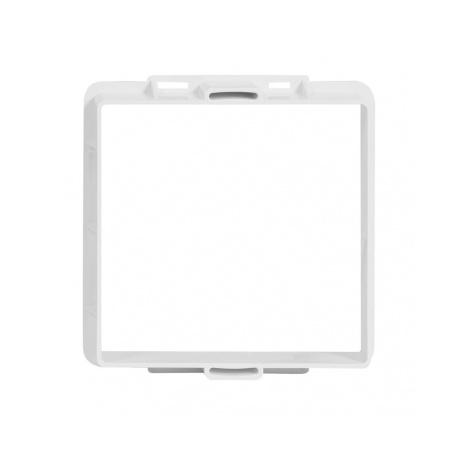 Větrací mřížka s rámečkem uzavíratelná 150x150 bílá - 3