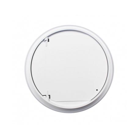 Větrací mřížka kruhová uzavíratelná 125 bílá - 3