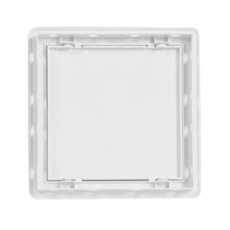 Vanová dvířka 150x150 bílá - 3