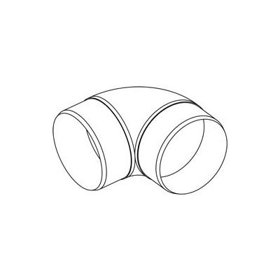 Koleno kulaté CKO 90/150 - 2