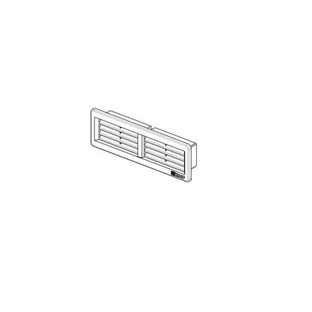 Větrací mřížka 220x55 bílá - 2