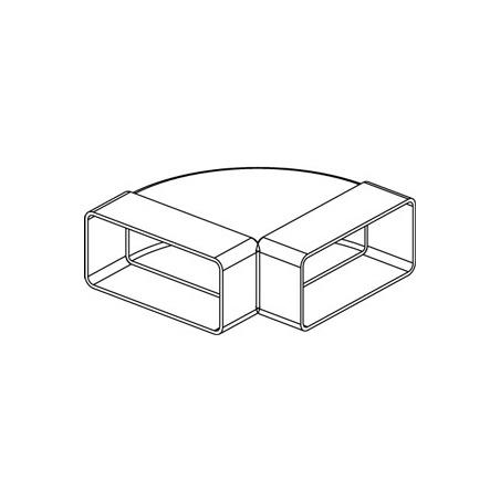 Koleno vodor.ploché CKH 2x220x55 - 2