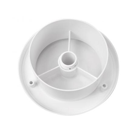Talířový ventil s regulací prům. 125 bílá - 4