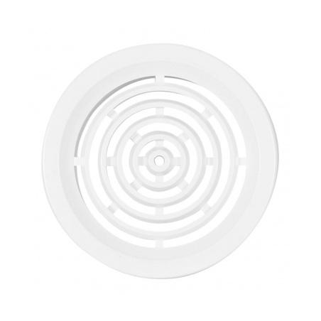 Větrací mřížka kruhová 50 bílá (balení 4ks) - 1