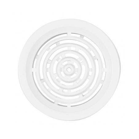 Větrací mřížka kruhová 50 bílá (balení 4ks) - 2