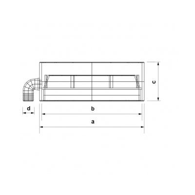 Sběrač s odvodem kondenzátu V - 150 - 2