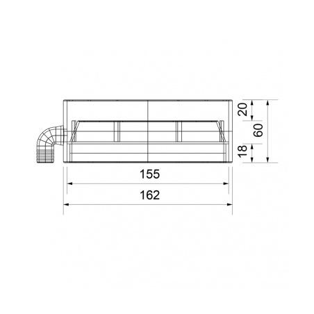 Sběrač s odvodem kondenzátu V - 150 - 3
